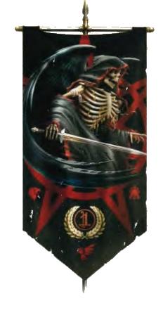 Estandarte de los Ángeles de la Muerte